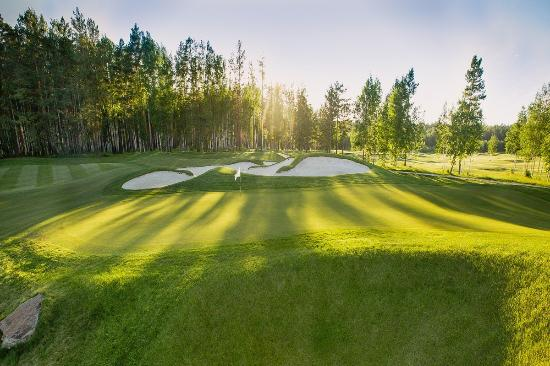 Sverdlovsk Oblast, Russland: Поле для гольфа