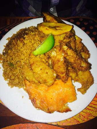 Menu picture of andros the fish fry nassau tripadvisor for Fish fry bahamas
