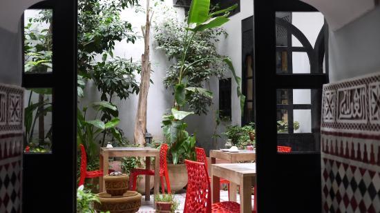 Jardin Intérieur - Picture Of Riad D'Or, Meknes - Tripadvisor