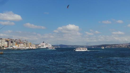 Hotel Inter Istanbul: bosphor
