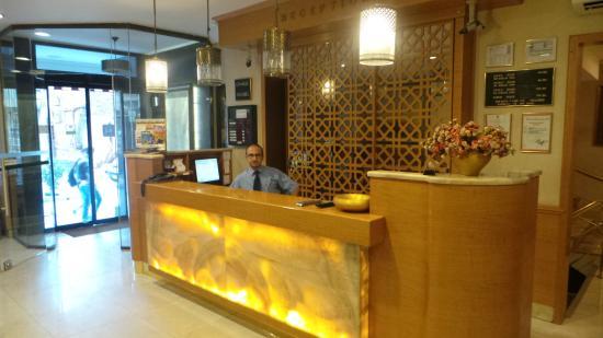 Hotel Inter Istanbul : hotel reception