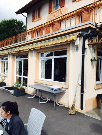 Caux, Szwajcaria: Hotel Buffet De La Gare
