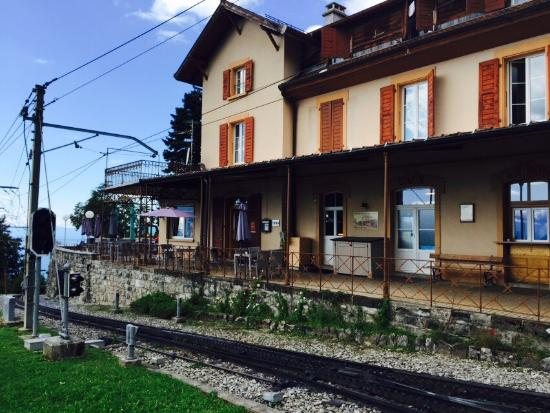 Ко, Швейцария: Hotel Buffet De La Gare