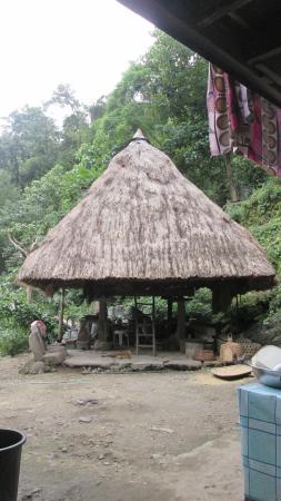 Batad, Philippinen: One of the huts at Ramon's Homestay and Restaurant.