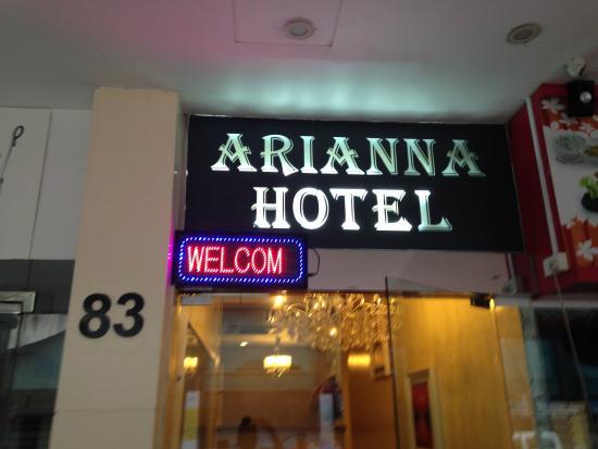 Arianna Hotel: Entrance