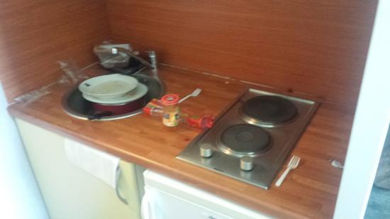 Ténéo Apparthotel Talence : État de la chambre à mon arrivé