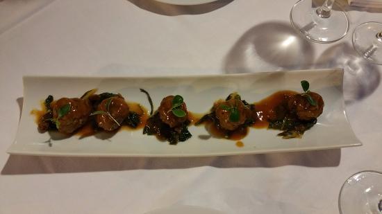 Es Llombards, España: Мясные шарики (закуска)