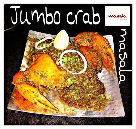 masala kitchen jumbo crab masala - Masala Kitchen