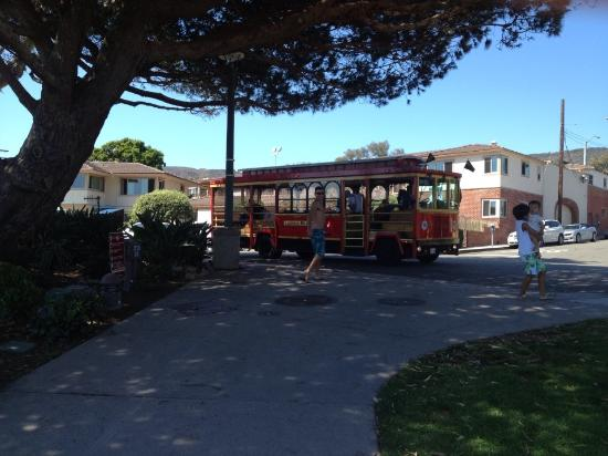Laguna Shores: This was awesome. The Free Trolley stops right across the street. Fun way to get around.