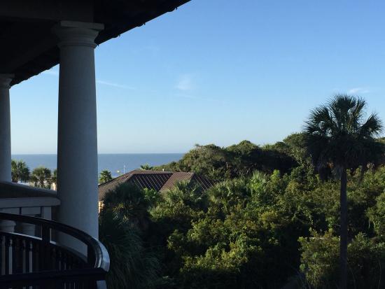Balcony - The Sanctuary Hotel at Kiawah Island Golf Resort Photo