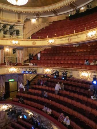 Novello theatre bild von novello theatre london for Balcony novello theatre