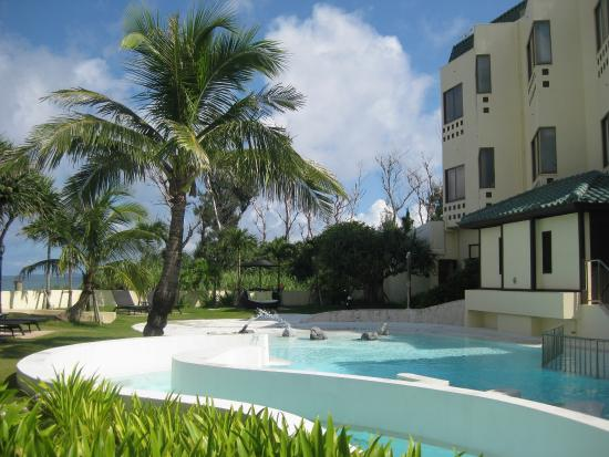 La Casa Panacea : プールサイドからの眺め