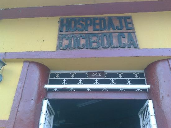Hospedaje Cocibolca: Name sign