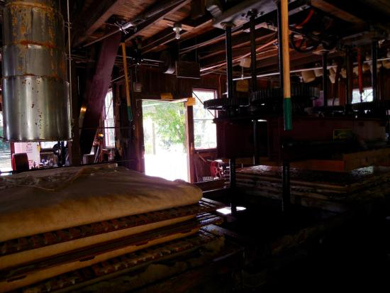 B.F. Clyde's Cider Mill: Inside the Cider Mill