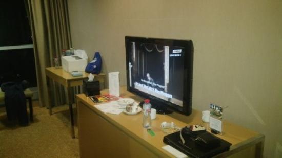 tv hotel room picture of swiss belhotel mangga besar jakarta rh tripadvisor co za
