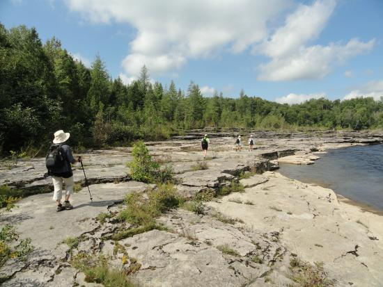 Saint-Ubalde, Canada: Gorges de la rivière Ste-Anne