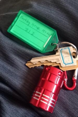 Walkerton, Canadá: Flashlight Keys