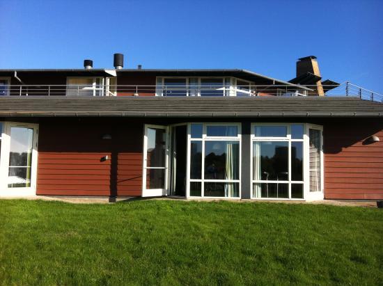 Fredericia, Denmark: Værelse med udgang til græsplæne