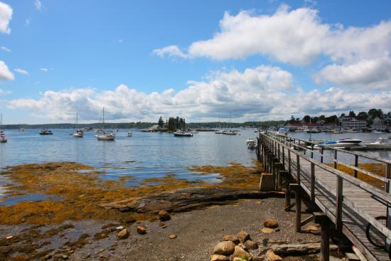 The Lobster Dock: vista sulla baia