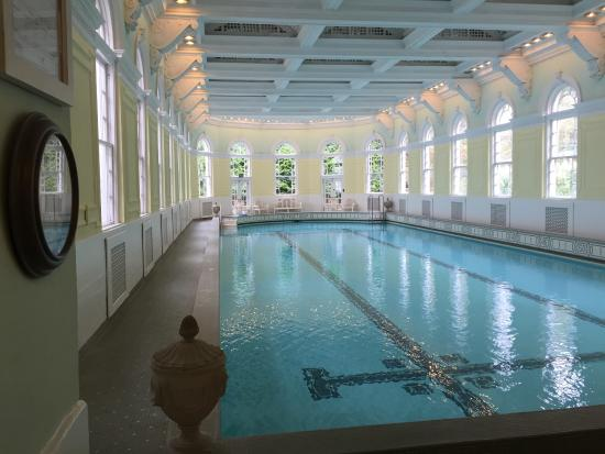 "Hot Springs, VA: Beautiful historic indoor and ""boutique"" outside pool."