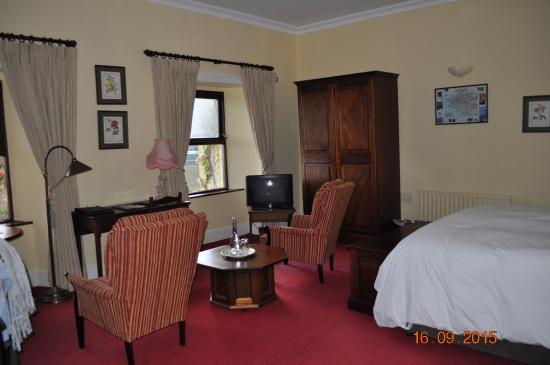 Lough Inagh Lodge: chambre 10