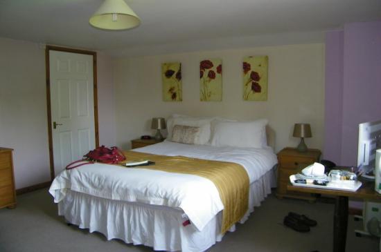 Staunton on Wye, UK: Our comfortable bedroom