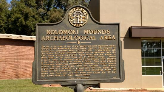 Blakely, GA: Kolomoki Mounds Historic Park