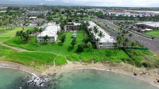 Drone Phote Of Maui Beach Hotel View