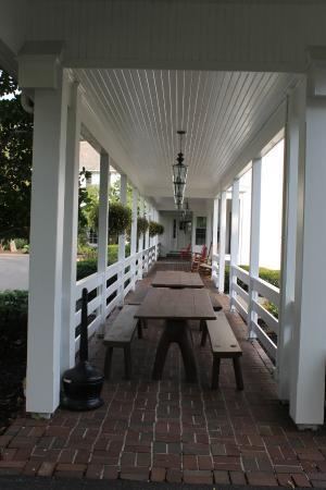 Fieldcrest Estate: Porch And Breezeway Between Buildings