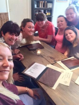 Masons Bar & Bistro: Ladies at lunch