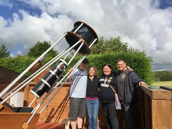Bradworthy, UK: Dobsonian Telescope