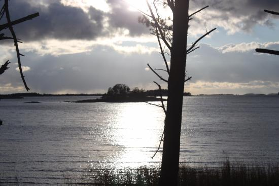 Parainen, Finland: закат