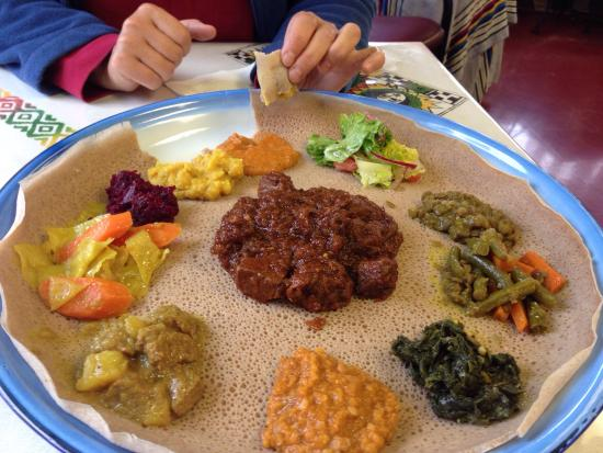 Picture of zehabesha traditional ethiopian for Authentic ethiopian cuisine