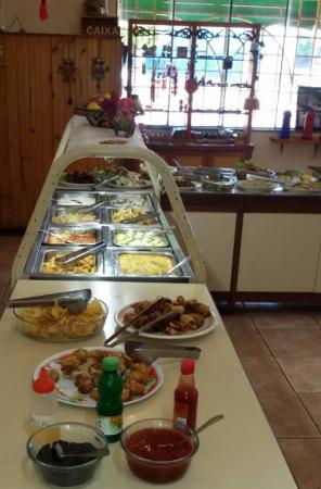 Restaurante Vegetariano Natural: bufett de pratos quentes