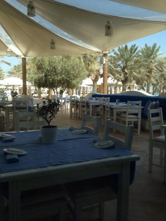 Mykonos : The Greek experience in Doha ! Real Greek food cooked by Greek chef !! Service is very good . Yo