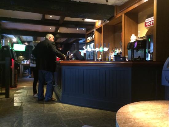 Castleton, UK: Bar area