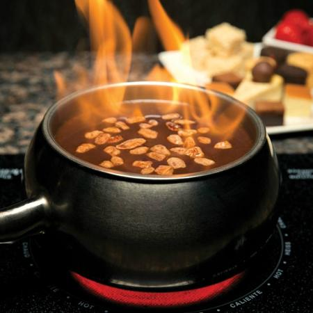 Flaming Turtle Chocolate Fondue Picture Of Melting Pot