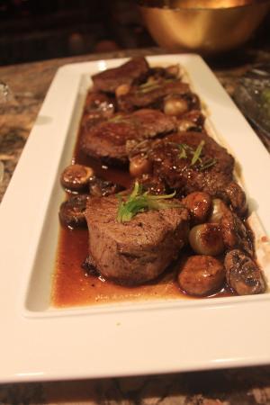 Beauchene Wilderness Lodge: Dinner from Chef Gary