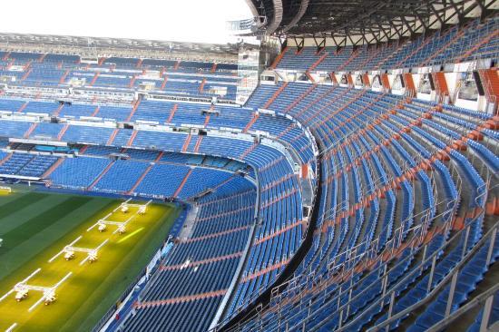 Estadio santiago bernabeu picture of stadio santiago for Puerta 6 santiago bernabeu