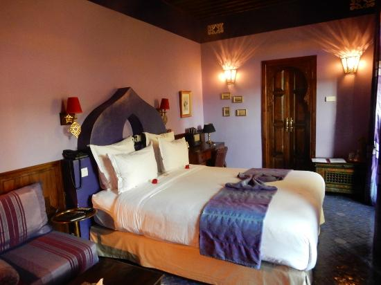 Riad Le Calife: The lovely Amethyst Suite