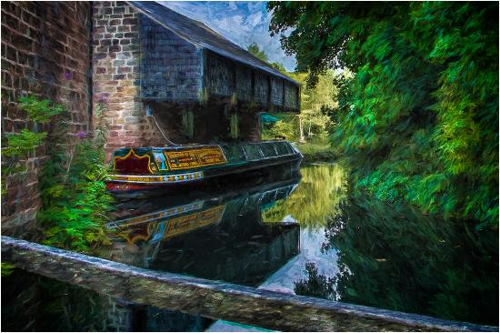 Litton, UK: Birdswooc on Conford Canal