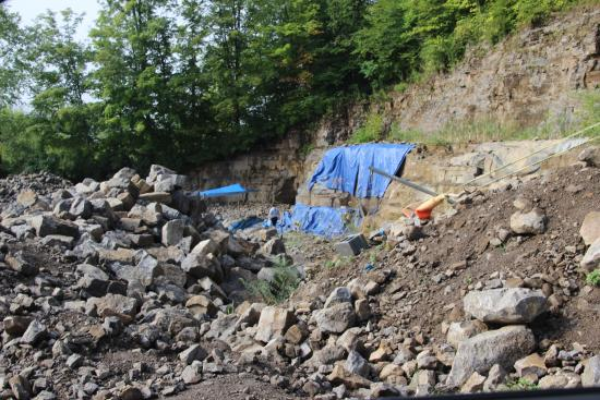 Ace of Diamonds Mine - Tarps cover claims