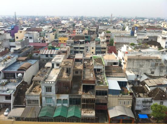 Hotel Citi International Sun Yat Sen : View of Medan from bedroom