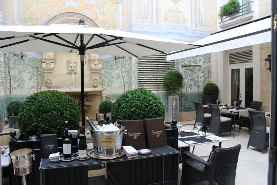 Castille Paris Hotel Review