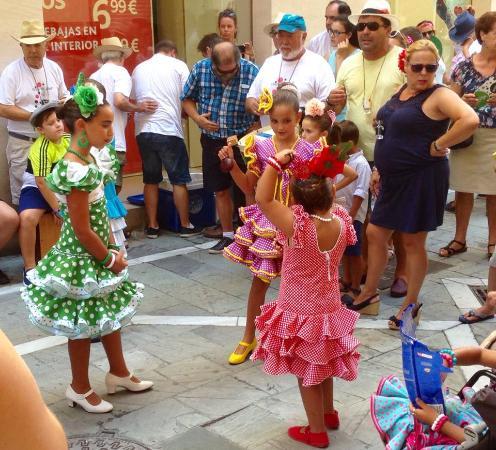 página web xxx bailando en Málaga