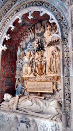 Cathedral of Santo Domingo de la Calzada: Detalle interiores