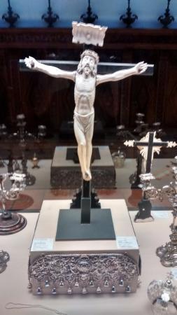 Cathedral of Santo Domingo de la Calzada: Detalle muestras de sala capitular