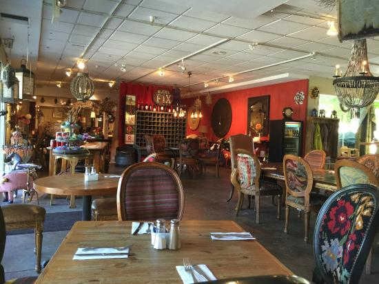 Depot Cafe: Looking left of my seat