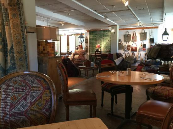 Depot Cafe: Part of the shop