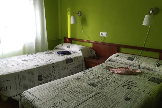 Hostal Lar: Nuestra habitación